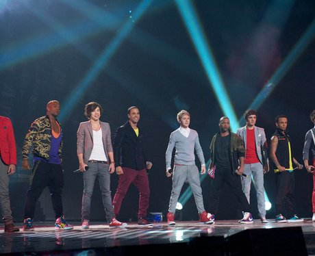 One Direction and JLS