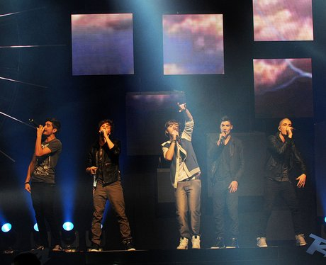 The Wanted performing