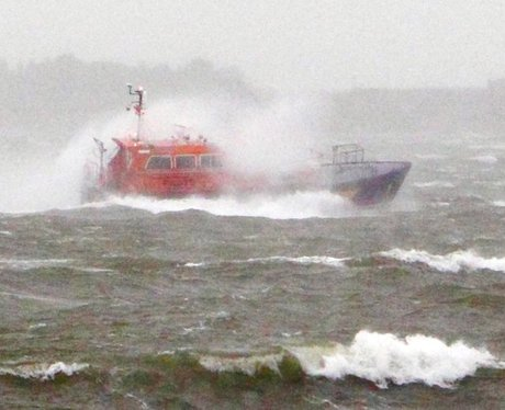 bad weather on the South Coast