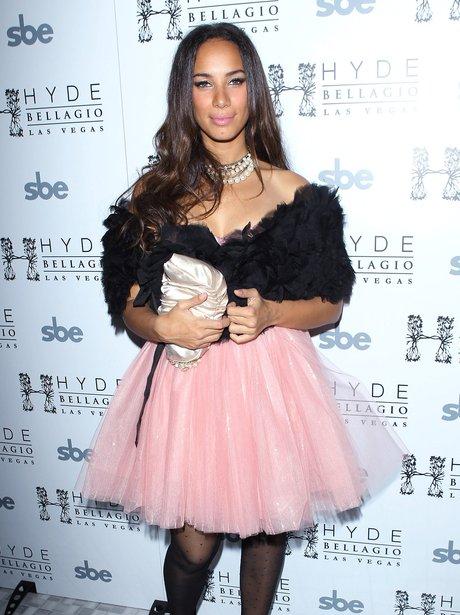 Leona Lewis on New Years eve