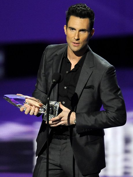 Adam Levine at People's Choice Awards
