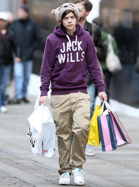 Harry shopping in Manchester