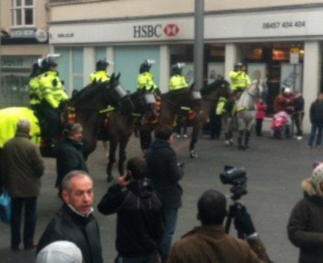 Leicester EDL & UAF 2012