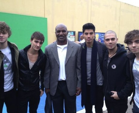 The Wanted with Evander Holyfield