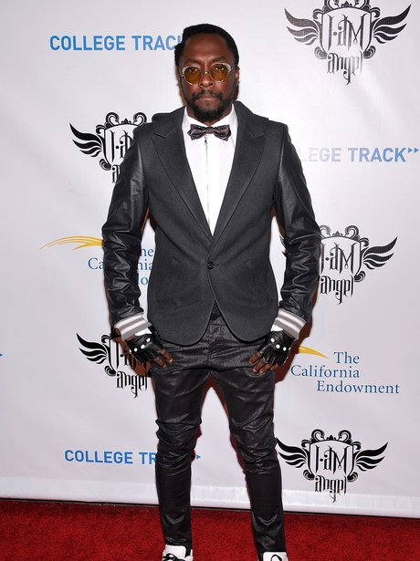 will.i.am on the red carpet