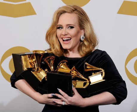 Adele grammy awards press room