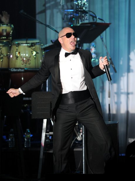 Pit Bull Pre Grammy Awards Party