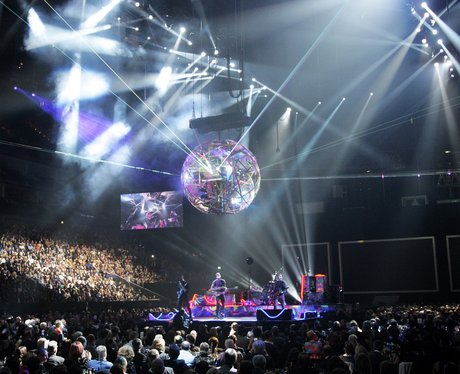Coldplay live at the BRIT Awards 2012