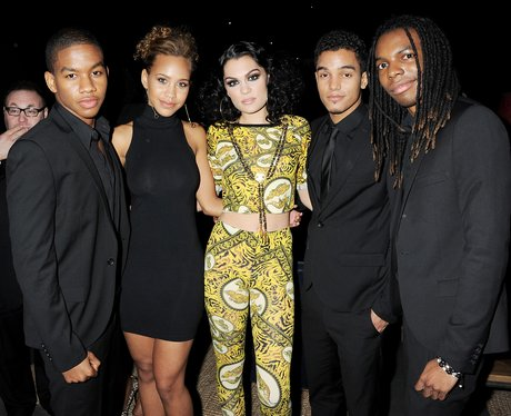 Cover Drive  and Jessie J attends the BRIT Awards