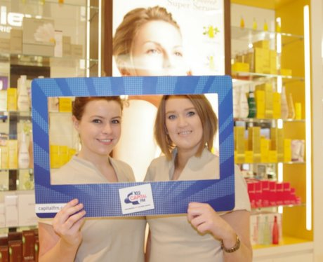 Get Beautiful with Sally Hudson at House of Fraser