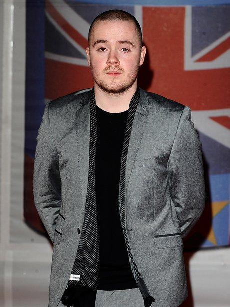 Maverick Sabre arrives at the BRIT Awards 2012