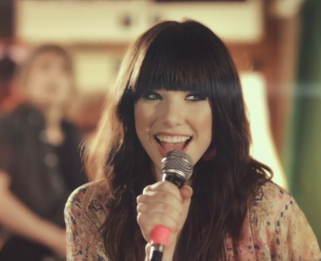 Carly Rae Jepsen in 'Call Me Maybe' video