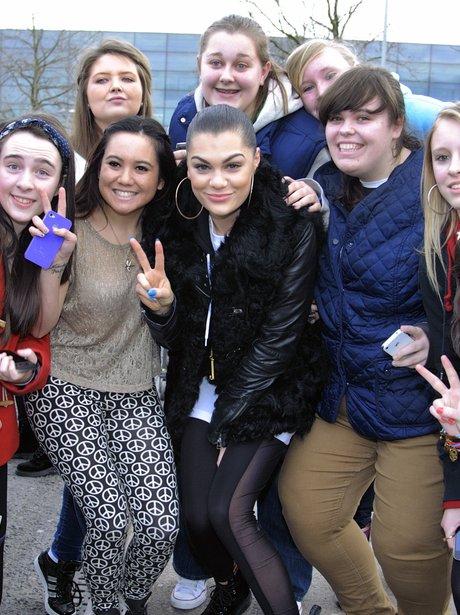 Jessie J with fans