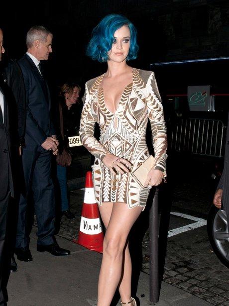 Katy Perry at London Fashion Week
