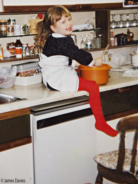 Adele when she was a baby