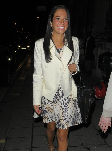 Tulisa out in London