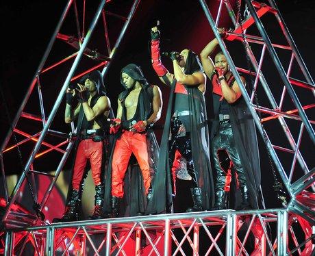 JLS live on tour
