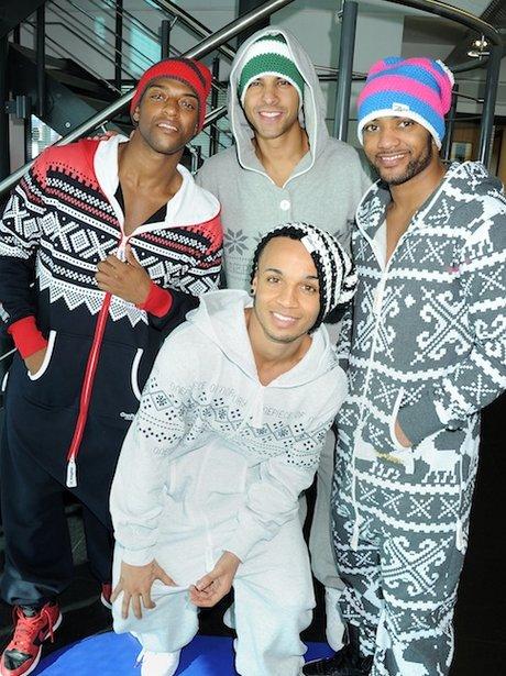 JLS in onesies