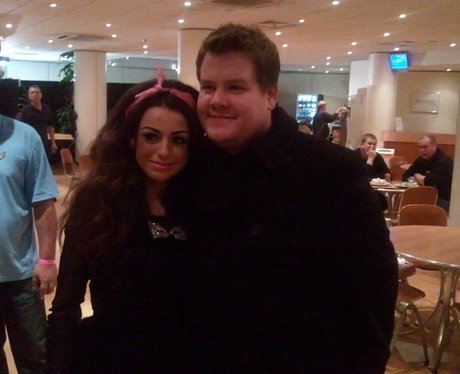 Cher Lloyd and James Cordon on twitter