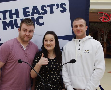 Hit Music Challenge at The Bridges in Sunderland