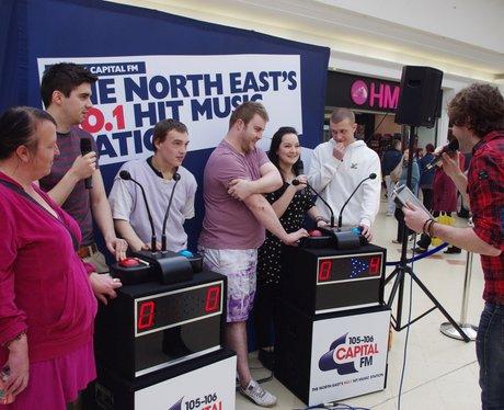 Hit Music Challenge at The Bridges in Sunderland
