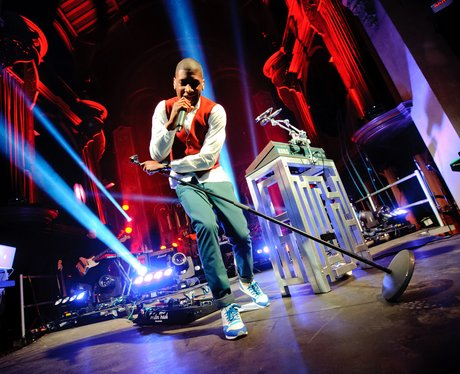 Labrinth performs live on stage