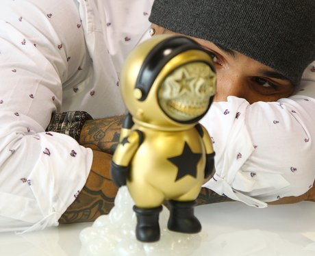 Chris Brown launches art show and toy launch