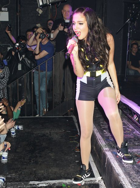 Tulisa performs live
