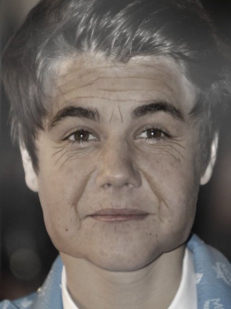Justin Bieber in the AgingBooth