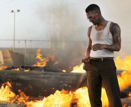 Adam Levine from Maroon 5 in 'Payphone' video