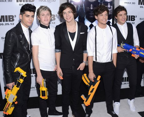 One Direction wearing smart casual