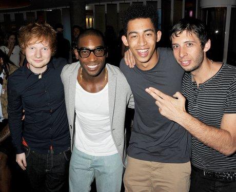 Ed Sheeran, Tinie Tempah, Jordan Stephens and Exam