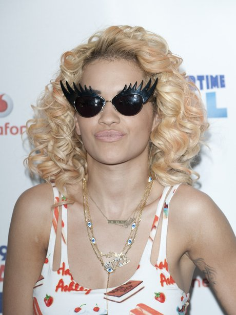 Rita Ora arrives at the Summertime Ball 2012