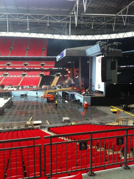 View From Your Seat At The Summertime Ball 2012 Capital