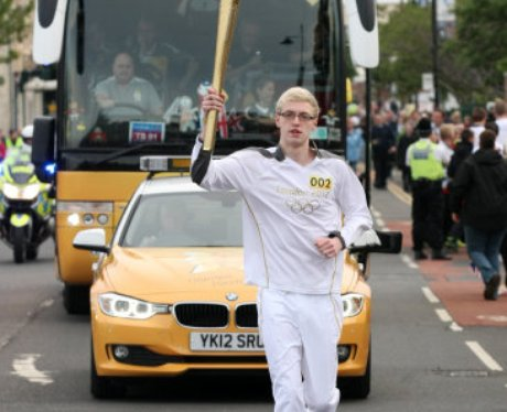 Olympic Torch Relay - Middlesbrough to North Yorks