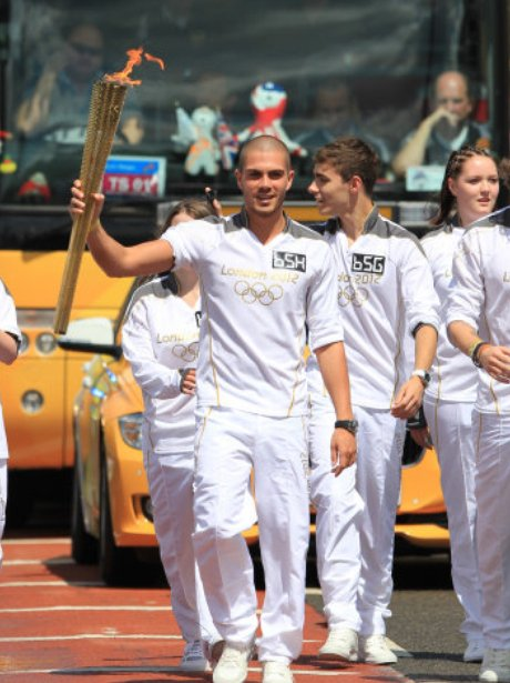 The Olympic Torch Relay Day 42 - The Wanted
