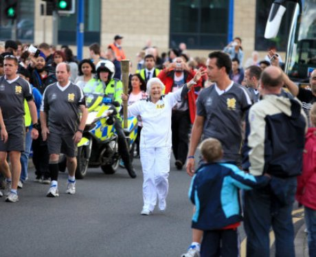 The Olympic Torch Relay Day 43: West Brom to Birmi