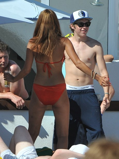 One Direction's Niall Horan on holiday