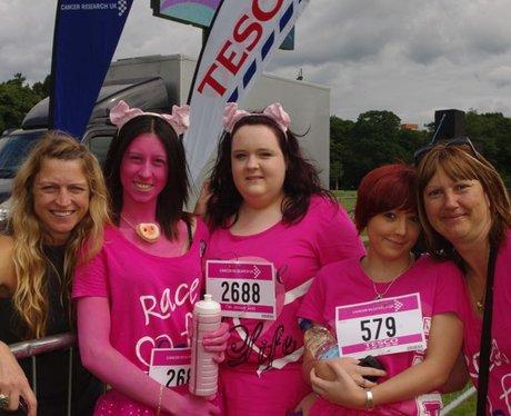 Race for life Cardiff Sunday