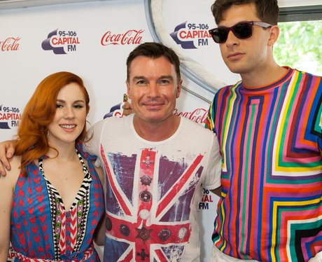 Katy B, Mark Ronson Olympic Torch Concert On Air S