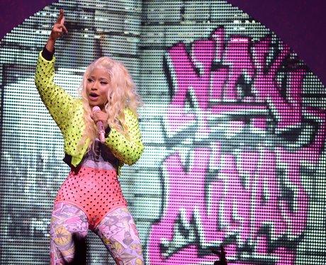 Nicki Minaj performing live in Florida