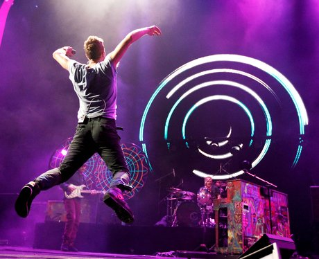 Coldplay perform in America