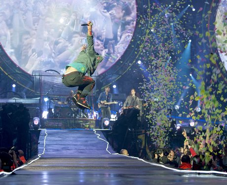 Coldplay perform live in London