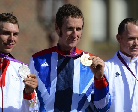 Bradley Wiggins London 2012 Olympics Gold