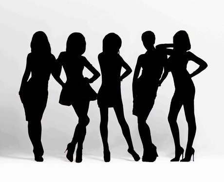 Girls Aloud Silhouette