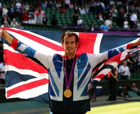 Andy Murray Wins Olympic Gold 2012