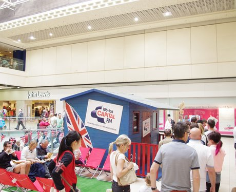 Capital Beach Shack in Eldon Square 4th August