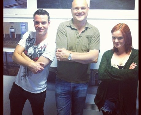 Des and Jennie with Al Murray