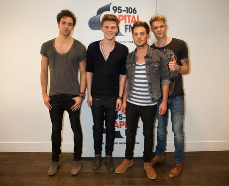Lawson play an intimate gig at Capital FM.