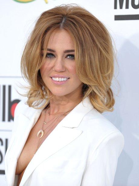 Miley Cyrus at the Billboard Awards 2012.